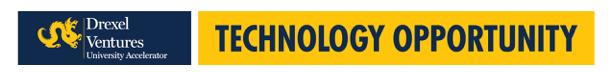 Drexel Ventures University Accelerator - Technology Opportunity